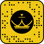 QR code snapchat royal chicha